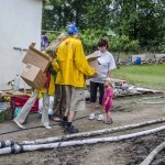 Flood Relief Work in the Czech Republic