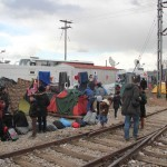 Refugee relief work in Idomeni, Greece