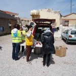 Refugee relief work, Chios Island, Greece